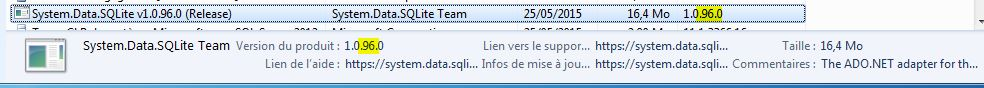SQLiteEF_02d - Verify Install