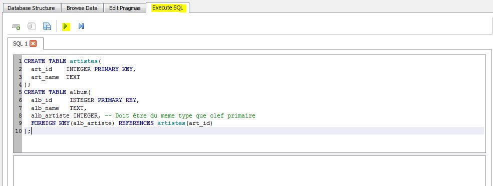 SQLiteEF_04 - Create Table