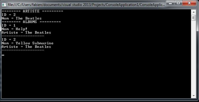 SQLiteEF_21 - Application OK