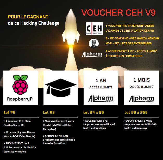Lots CTF Hacking Challenge Alphorm